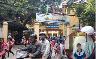 Hà Nội: Thanh niên lạ mặt lẻn vào trường học sàm sỡ, sờ soạng học sinh tiểu học