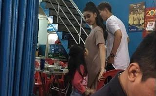Paparazzi: Tim và Trương Quỳnh Anh đi ăn đêm cùng nhau giữa