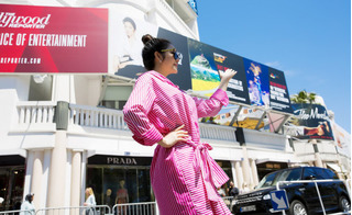 Cơ quan chức năng lên tiếng về vụ pano của Lý Nhã Kỳ đặt ở Cannes