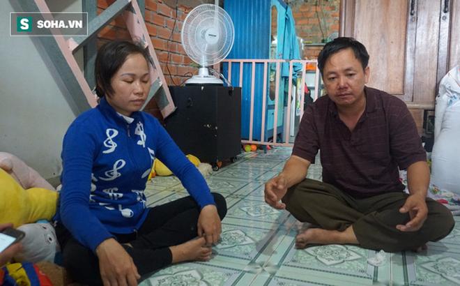 Người bố nuôi hai con bị teo não và vợ cũ của mình
