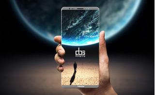 Samsung Galaxy Note 8 lần đầu lộ diện thiết kế nam tính, camera kép thời thượng