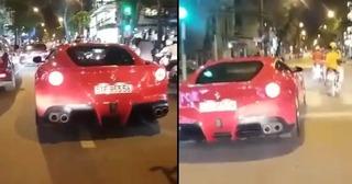 Siêu xe phóng bạt mạng khiến đường phố trở nên hỗn loạn