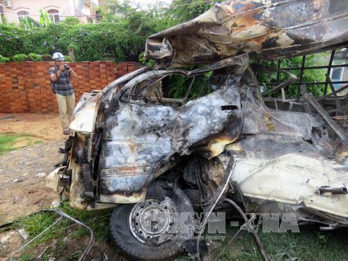 Chiếc xe trong vụ tai nạn giao thông đường sắt mang tận 2 biển số