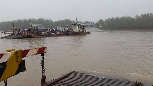 Bến phà Rừng, nơi gã giang hồ đất Cảng Vũ Văn Thơ thường xuyên hoạt động