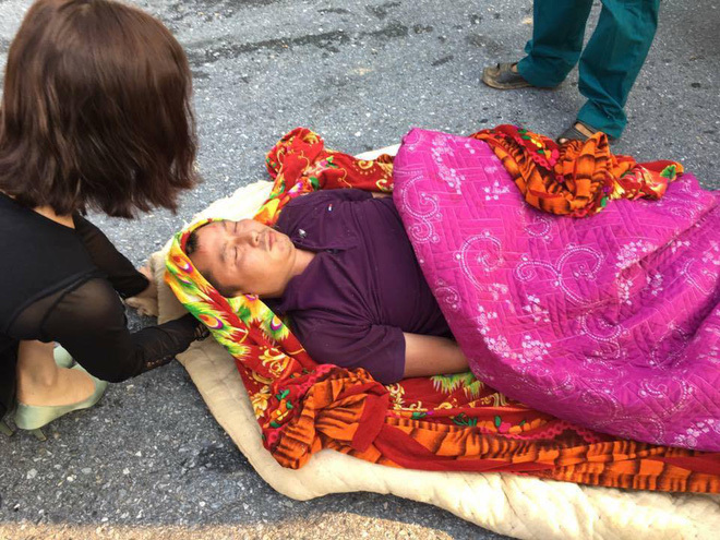 Tai nạn cháy xe ô tô ở Sapa 2