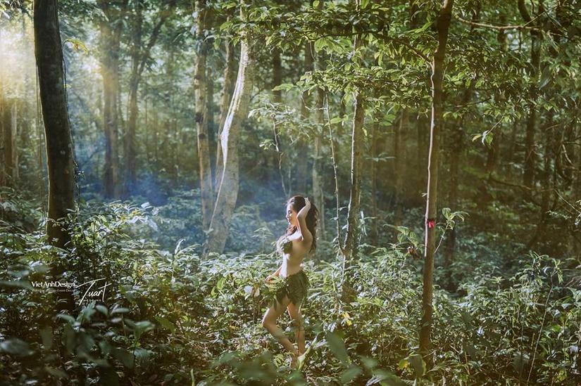 bộ ảnh vườn địa đàng 2