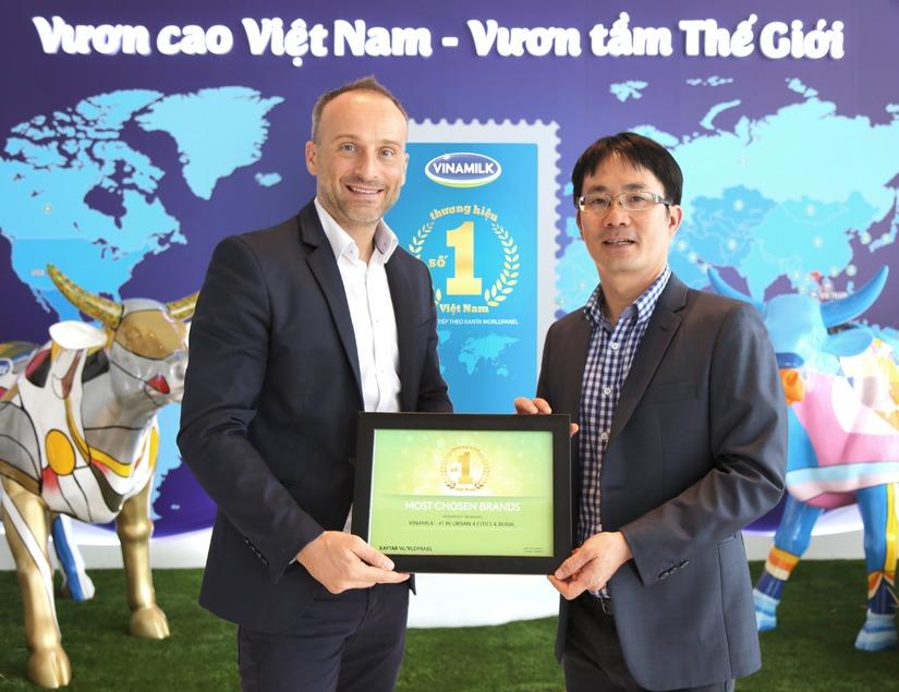 chứng nhận thương hiệu số 1 Việt Nam