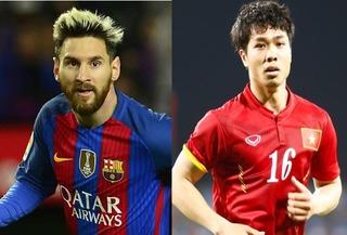 Chốt thời điểm Công Phượng chạm trán Messi thực thụ tại Việt Nam
