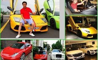 Điểm mặt 8 đại gia có thú chơi siêu xe khét tiếng tại Việt Nam
