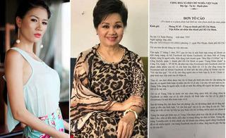 Nghệ sĩ Xuân Hương nộp đơn tố cáo đề nghị xử lý Trang Trần
