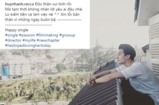 Huỳnh Anh và Hoàng Oanh chia tay sau 3 năm yêu nhau