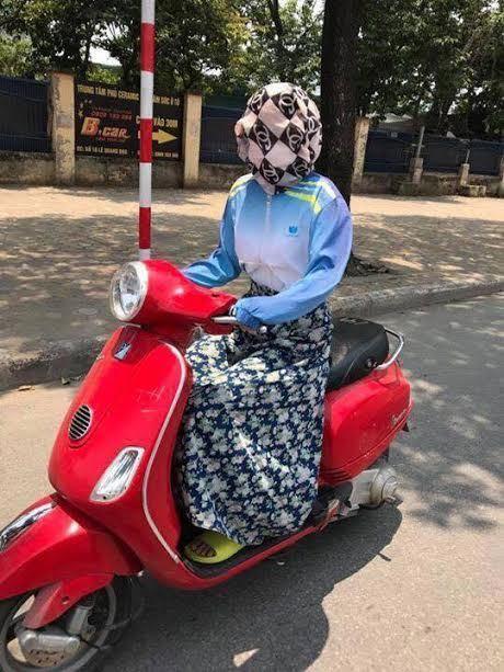 ảnh chế nắng nóng kỷ lục ở Hà Nội 4