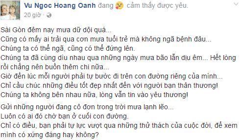 Hoàng Oanh và Huỳnh Anh 1