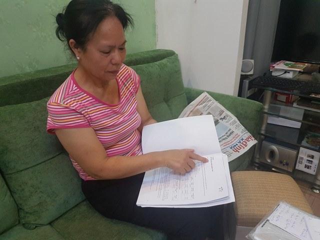 Bà Trần Thị Sửu tố Bảo hiểm Prudential gây khó dễ, ép khách hàng hủy hợp đồng.