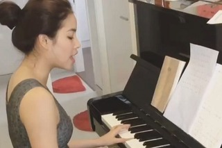 Hát hay, đàn giỏi nhưng Phạm Hương chưa có ý định làm ca sĩ