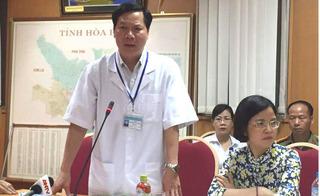 Vụ 8 người tử vong khi chạy thận: Giám đốc Bệnh viện Đa khoa Hòa Bình bị đình chỉ công tác