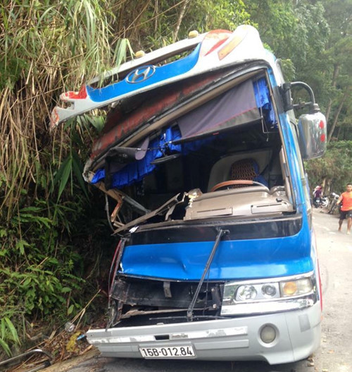 vụ tai nạn ở Tam Đảo 1