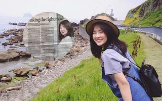 Tiếp tục lên báo Malaysia, hot girl trà sữa Kiều Trinh khẳng định nổi tiếng là do may mắn