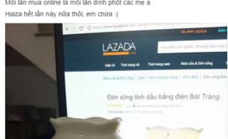 Mua hàng online: Hết quần áo lại tới đèn ngủ bị khách hàng