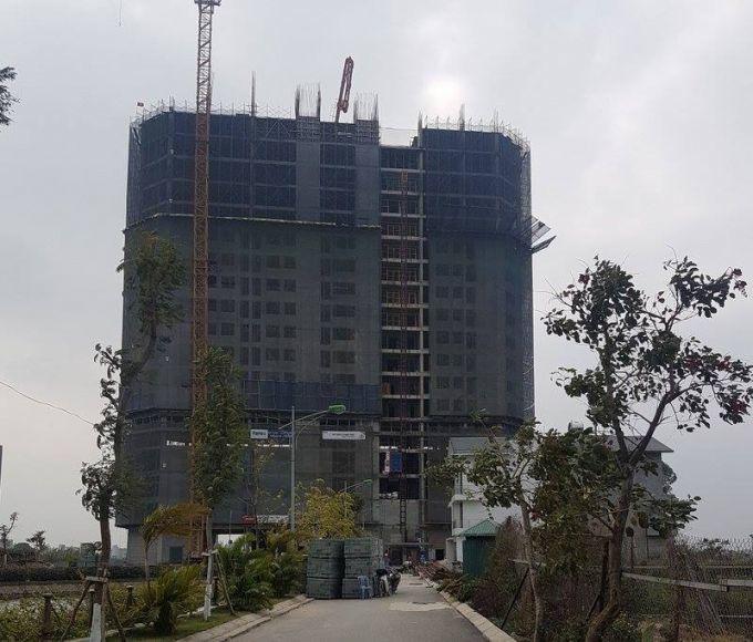 Chung cư cao tầng ở Hà Nội