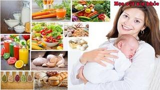 Lấy lại vóng dáng Ngọc Trinh sau sinh - các mẹ không thể không bỏ qua những thực phẩm này