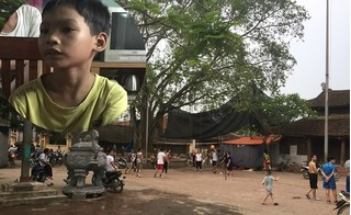 Sân đình gần nhà cháu bé 33 ngày tuổi bị sát hại: Bé trai lớp 4 bị kẻ lạ mặt lôi ra xe