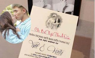Cặp đôi Kaity Nguyễn và Will lộ thiệp mời