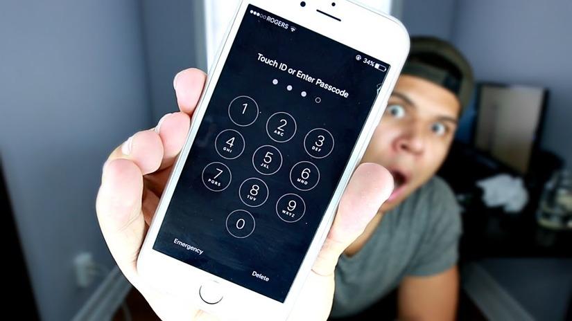 quên mật khẩu iPhone 1