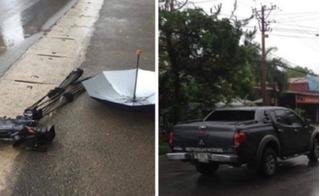 Bắt khẩn cấp đối tượng lái ô tô làm hỏng máy quay của phóng viên VTV