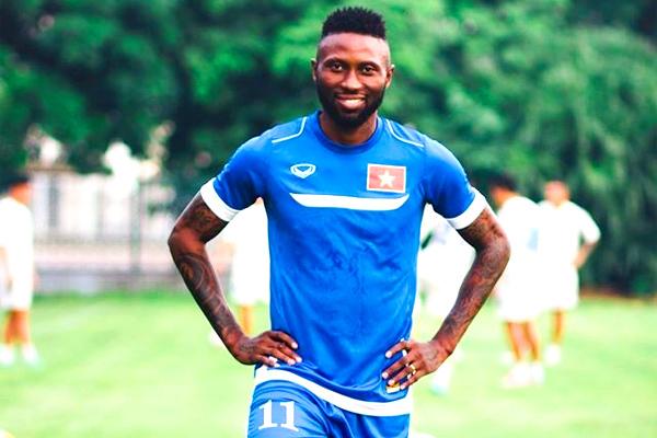 Samson chưa từng khoác áo đội tuyển quốc gia Việt Nam. Ảnh: Thể thao