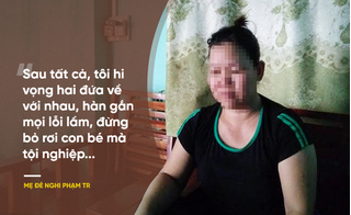 Mẹ đẻ nghi phạm sát hại con trai 33 ngày tuổi: