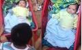 TP.HCM: Hai em bé đáng yêu bị bỏ rơi khiến nhiều người rơi nước mắt