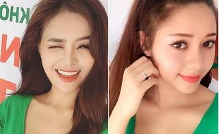 Cận cảnh nhan sắc xinh đẹp và nóng bỏng của 2 nữ PG trong clip hot nhất mạng xã hội những ngày qua