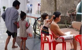 Những hình ảnh chứa chan tình cảm, rung động tận đáy lòng về tình cha con