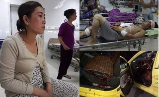 Cuộc phỏng vấn độc quyền với tài xế taxi bị cướp đâm 8 nhát lòi ruột vẫn cố lái xe 5km đến bệnh viện