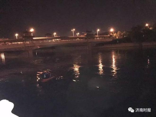 Đoạn sông nơi ông bố nhảy xuống cứu con nhảy sông tự tử. Ảnh: Sina