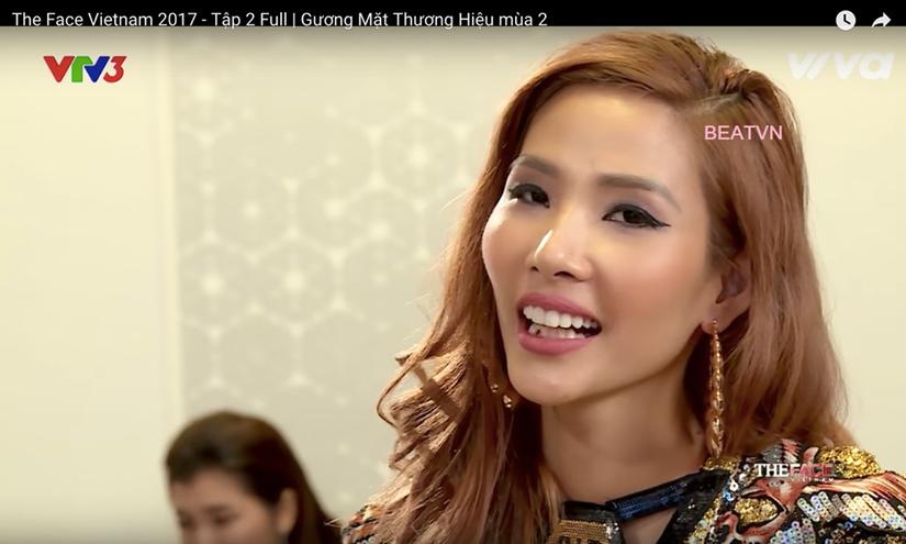 Hoàng Thùy The Face