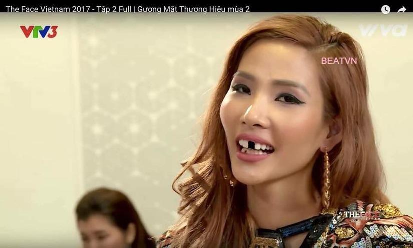 Hoàng Thùy The Face 3