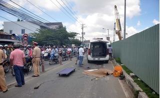 Chạy nhảy một mình trên đường, bé 3 tuổi tử vong dưới gầm xe tải
