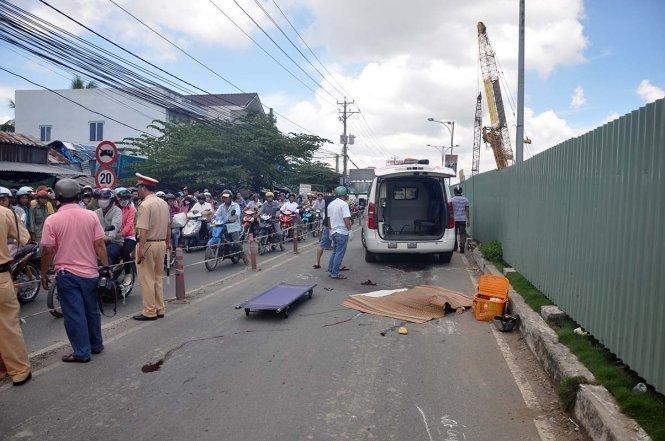Bé bị tai nạn giao thông ở Hà Tĩnh 1