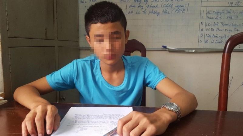 Thiếu niên 14 tuổi giết người