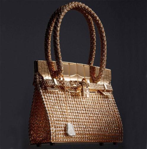 Túi Hermès Diamond Crocodile Birkin