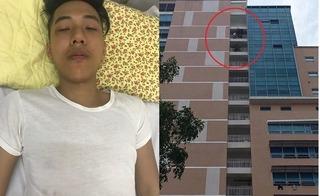 30 phút nghẹt thở giải cứu bệnh nhân đòi nhảy từ tầng 18 xuống đất tự sát