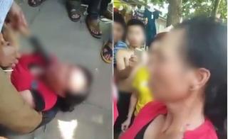 Dí dao vào cổ người phụ nữ và yêu cầu khai báo việc bắt cóc trẻ em ở Nghệ An
