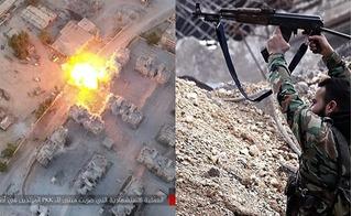 Quân đội Syria giáng đòn uy lực, khủng bố khiếp vía thoi thóp không dám phản công