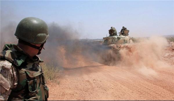 Quân đội Syria đẩy mạnh tấn công khủng bố IS. Ảnh: Reuters