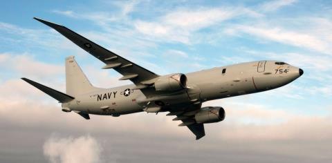 Máy bay Mỹ P-8A Poseidon đã tiếp cận căn cứ của Nga. Ảnh: defensenews