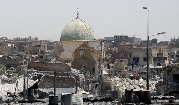 IS hiện vẫn còn khoảng hơn trăm tay súng đang cố thủ trong thành phố Mosul. Ảnh: CBC