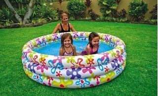 Bể bơi mini có thể gây ngộ độc chì cho trẻ, đặc biệt là vào mùa hè