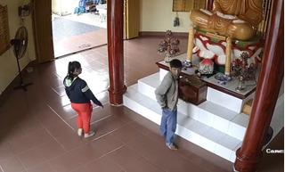 Clip vạch mặt kẻ trộm tiền trong hòm Tam Bảo tại TP.HCM